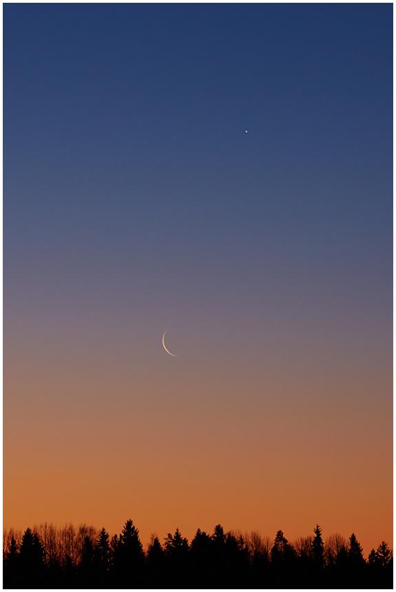 Kuu ja Veenus