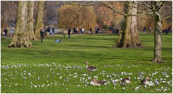 Kevad Londonis