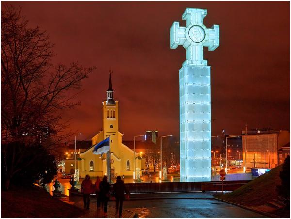Vabadussõja võidusammas Tallinnas