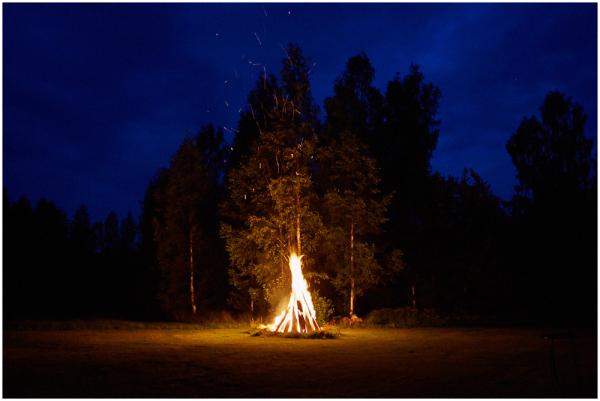 Õhtune lõke / Bonfire