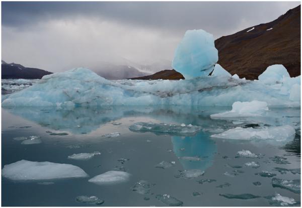 Jäine maastik / Icy landscape