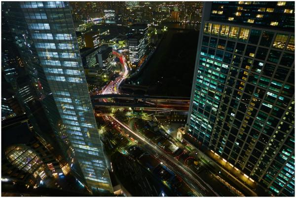 Night walk, 3. Tokyo