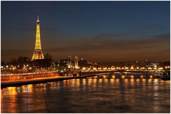 Õhtune Pariis