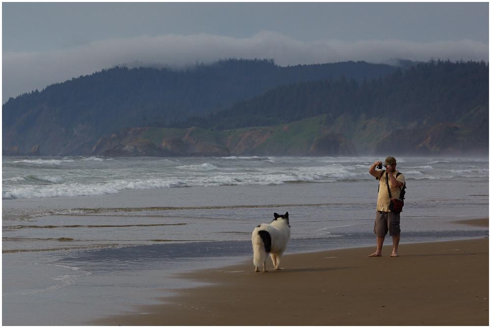 Sõbraga rannal