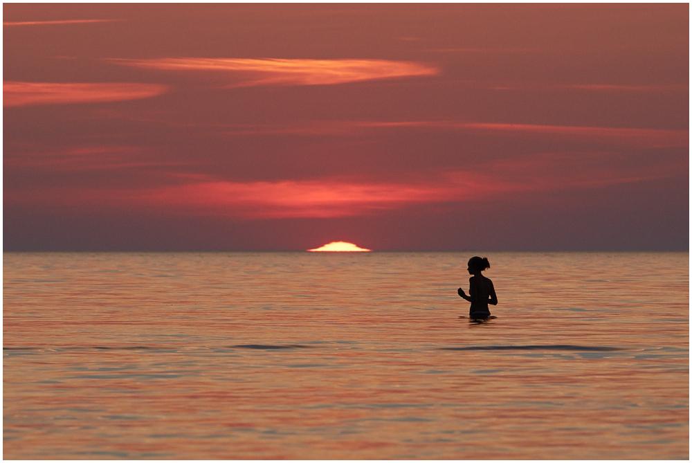 Päike vajub merre
