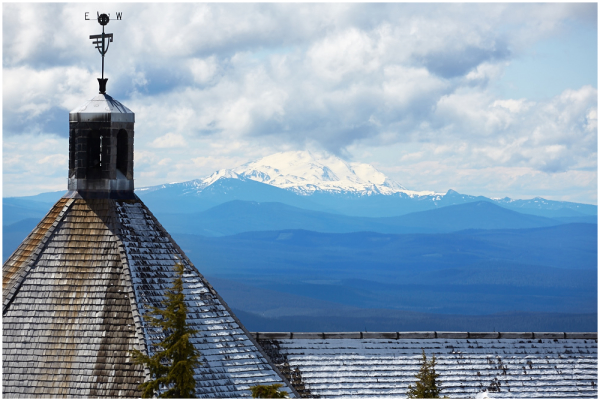 Timberline Lodge and Mt Jefferson