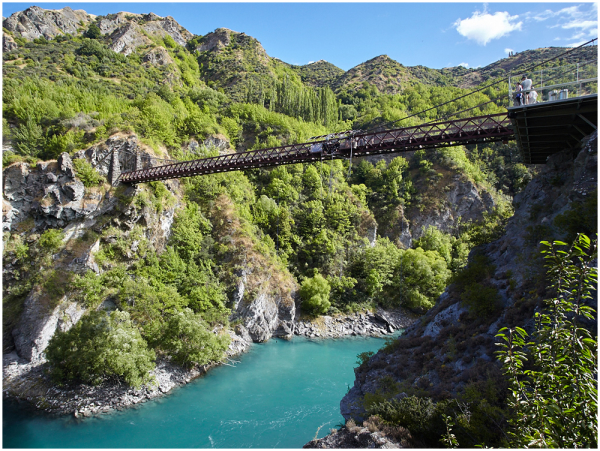 Kawarau Gorge Suspension Bridge