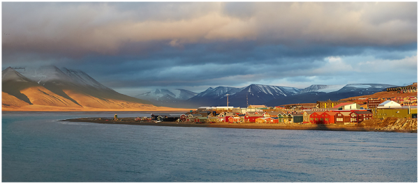 View to Longyearbyen