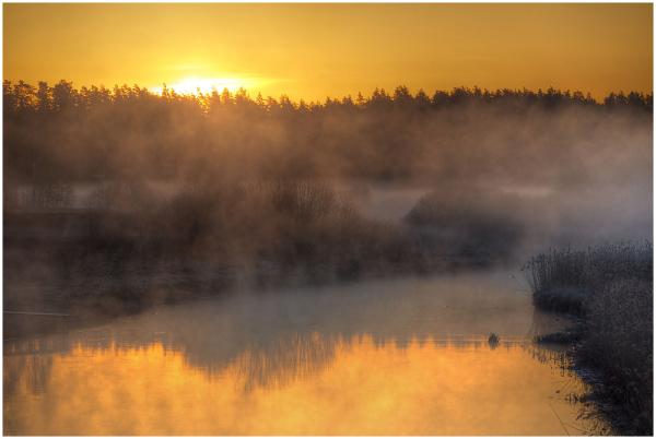 Udune hommik