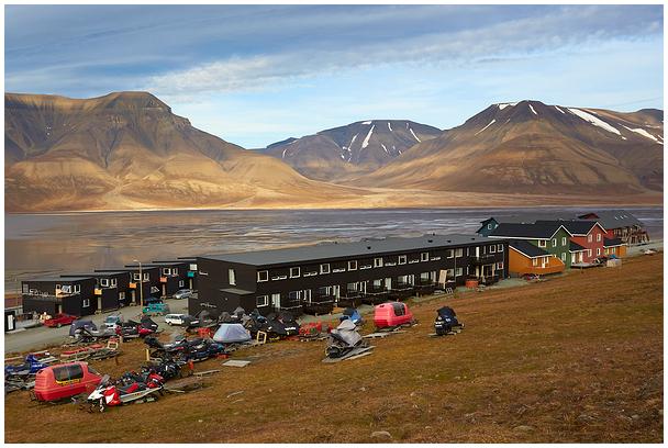 City walk, 7. Longyearbyen