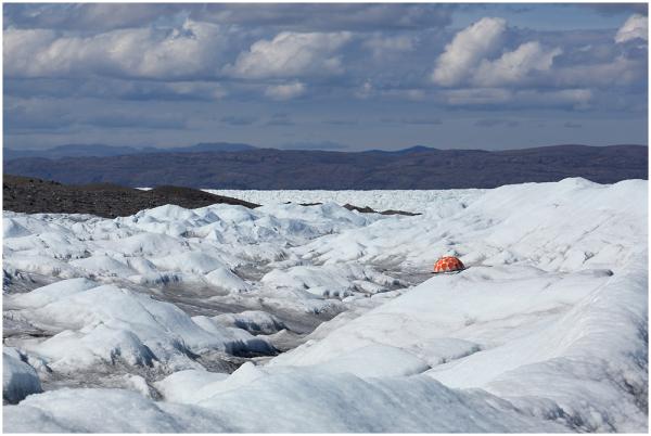 Laagripaik Gröönimaa jääkilbi serval