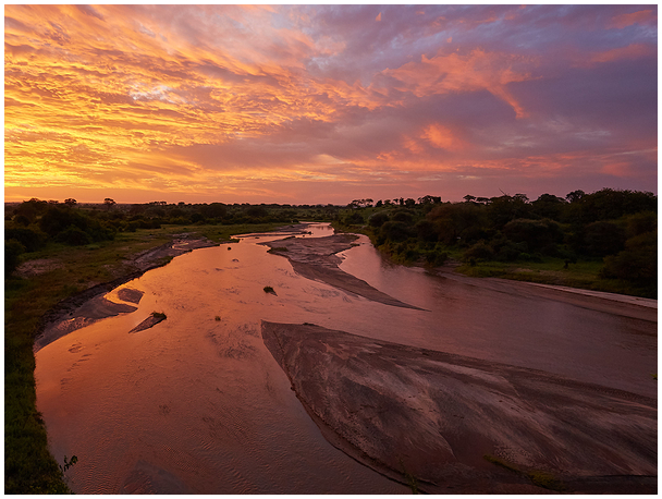 Morning on Tarangire River