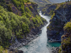 Kawarau river, New Zealand
