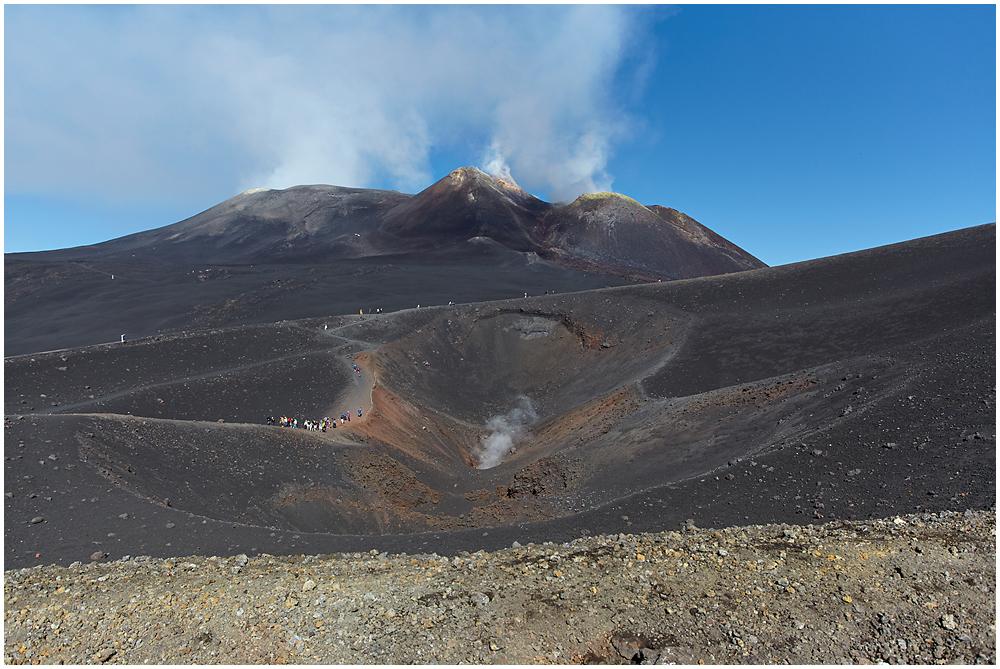 Vaade Etna vulkaanile
