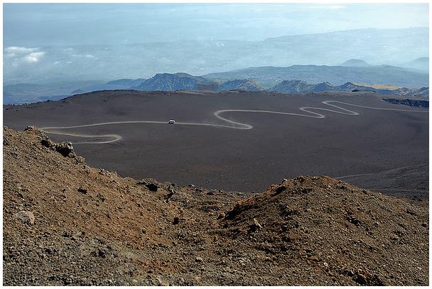 Vaade Etna vulkaanilt