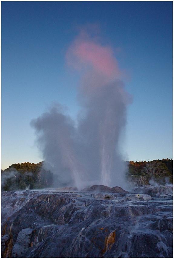 Pohutu geyser, Rotorua, New Zealand