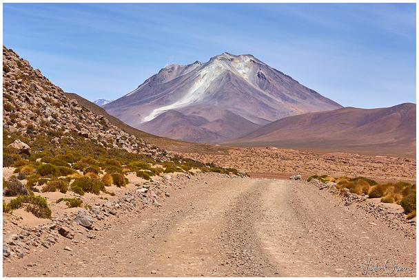 Ollagüe vulkaan / Ollagüe volcano