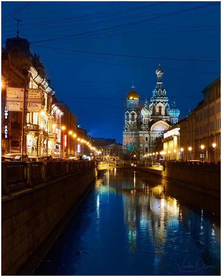 Lunastaja kirik Verevalamiskohal Peterburis