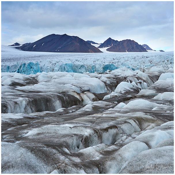 Hansbreen Glacier, Svalbard