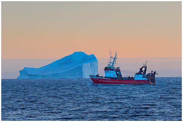 """Traaler """"Claudia"""" / Trawler """"Claudia"""", Nuuk"""