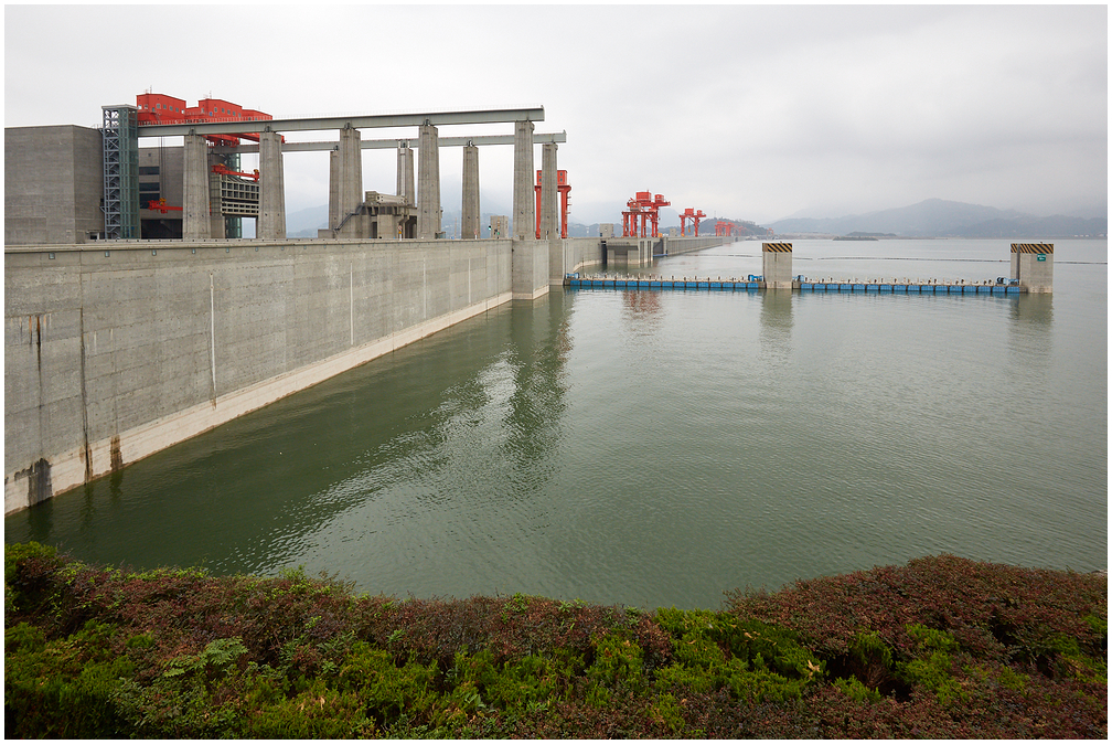 Three gorges Dam, Jangtse