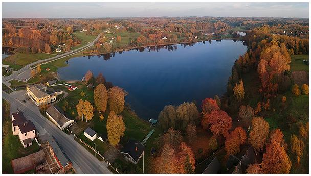 Rõuge Suurjärv / Lake Suurjärv in Rõuge, Estonia
