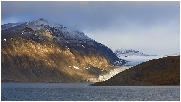 Teravmägede rannik / Svalbard's coast