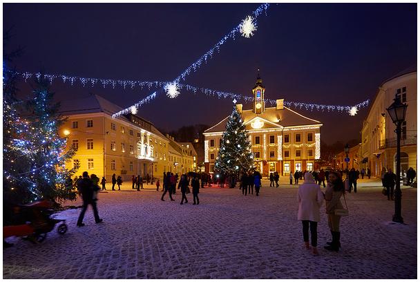 Tartu Town Hall Square