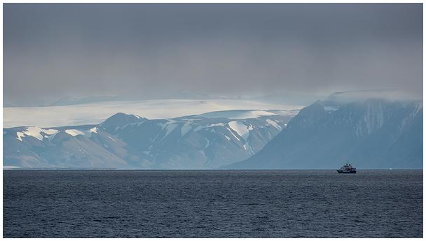Teravmägede rannik / Svalbard coast