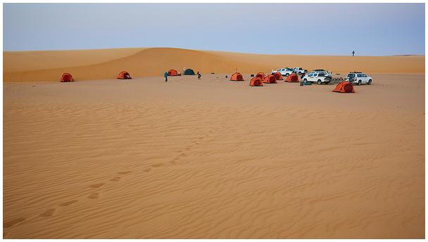 Kõrbelaager / Desert camp