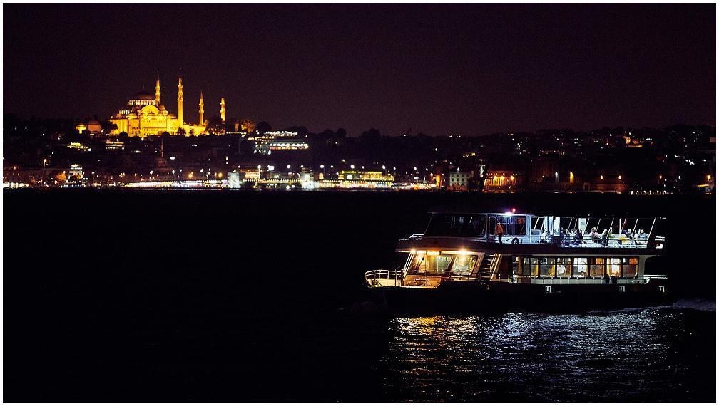 Istanbuli vaade õhtul