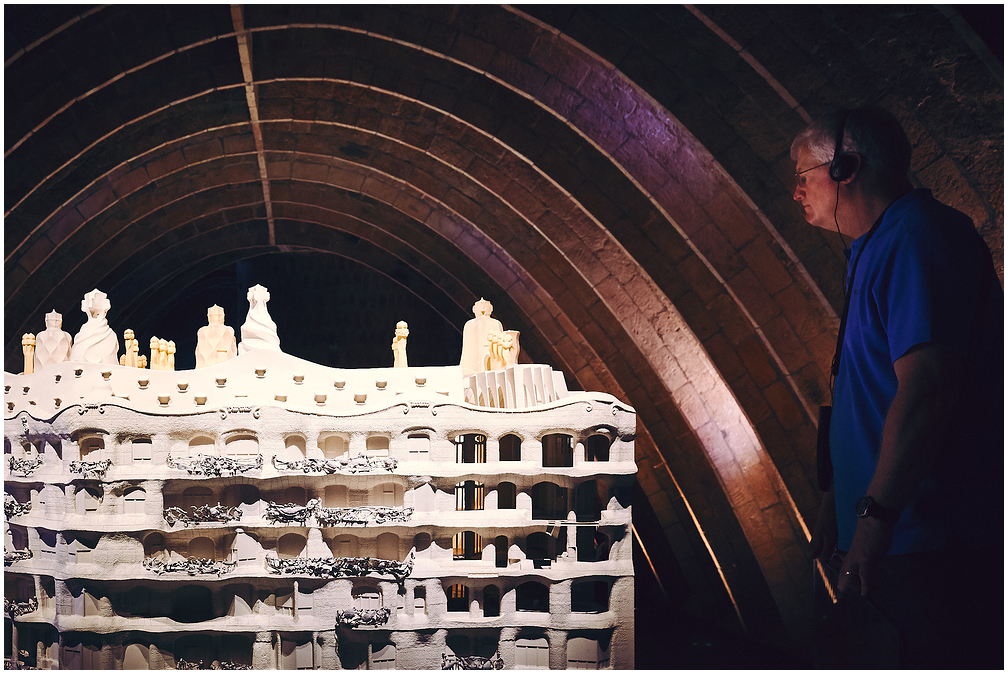 Model of Casa Milà, Barcelona