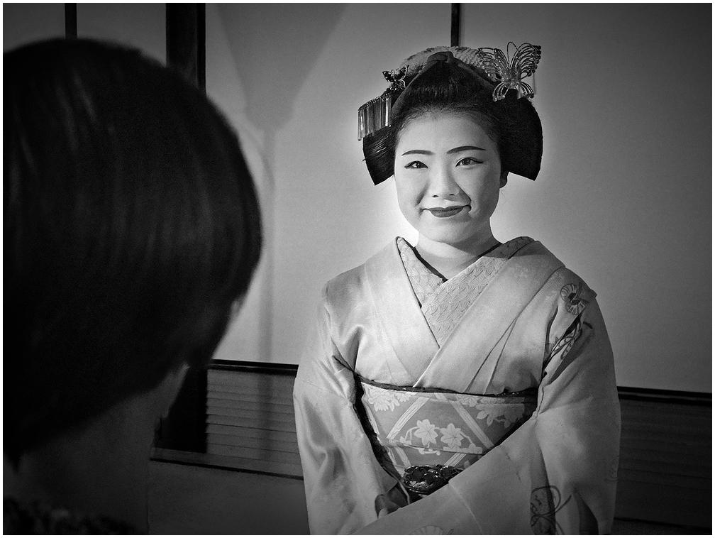 Meeting maiko