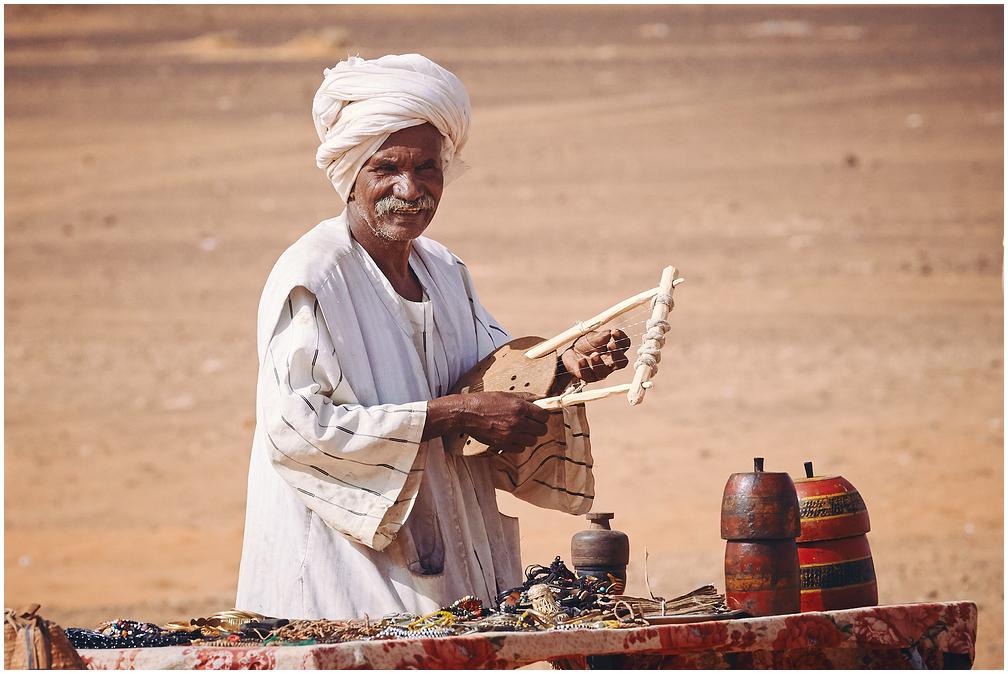Suveniirimüüja Sudaanis