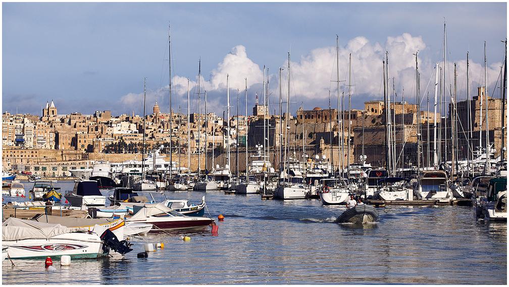 Valletta marina, Malta