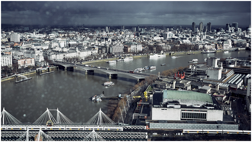 London from Big Eye