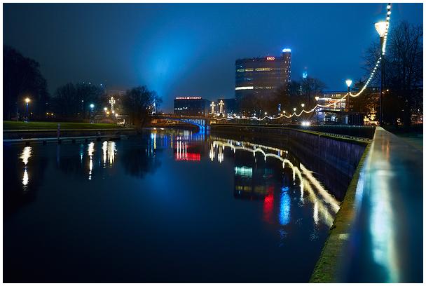 Õhtune Tartu / Night in Tartu, Estonia