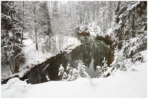 Ahja jõgi / River Ahja