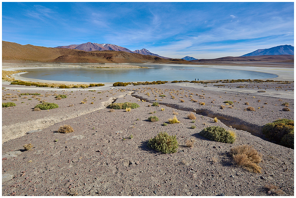 Laguna in the Andes