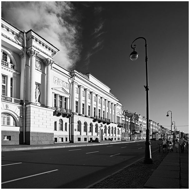 Peterburi Neeva kaldapealne