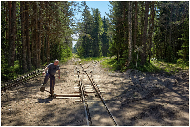 Naissaare kitsarööpmeline raudtee