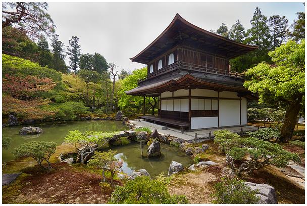 Ginkaku-ji / Sylver Pavillion, Kyoto