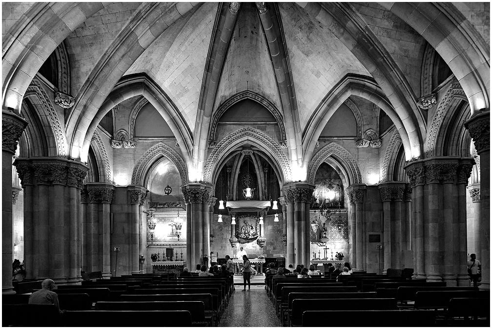 Crypt in Sagrada Familia