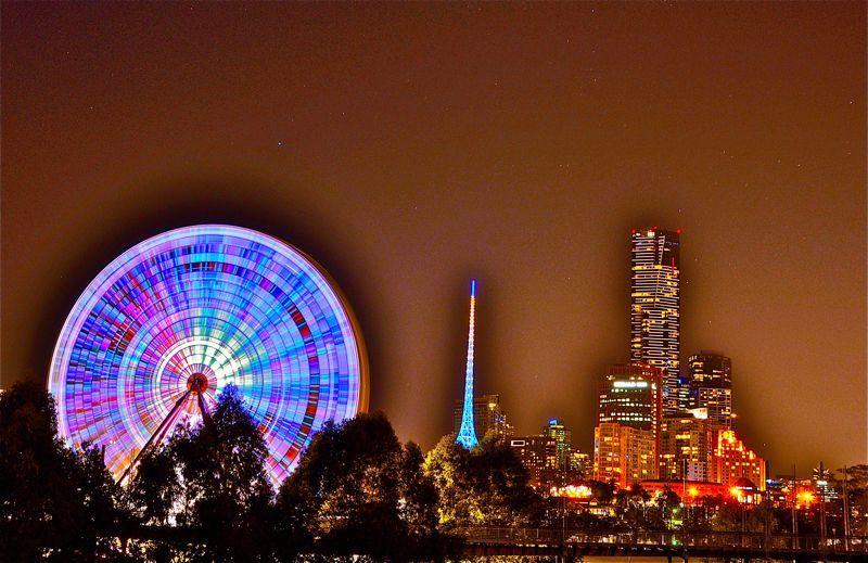 Strange Lights in Melbourne