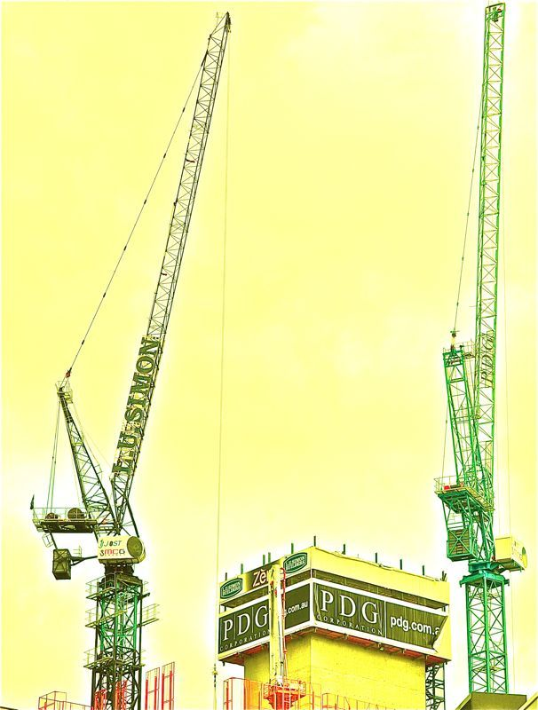 Construction in Melbourne