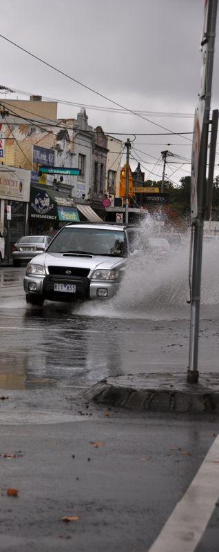 Rainy Melbourne