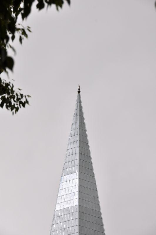 Church Steeple Close Up