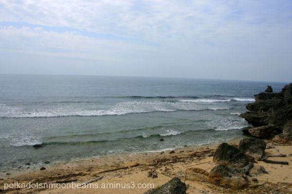 beach shore coral island ocean taiwan