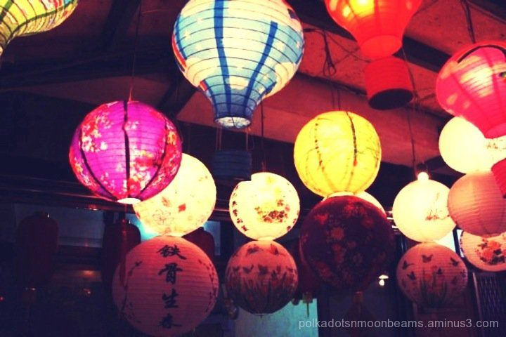 lanterns chinese new year