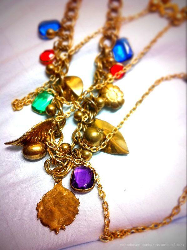 vintage necklace trinkets